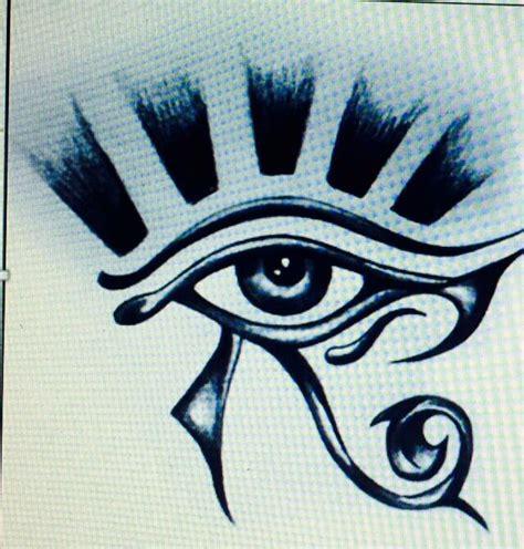 imagenes ojos egipcios 17 mejores ideas sobre tatuajes de ojo egipcios en