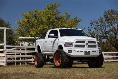 Ac 2500 Rosegold Blue 1 lifted ram 2500 on gold wheels meets a autoevolution
