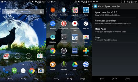 themes for android apex launcher apex launcher 2 7 0 brings material design ui updates