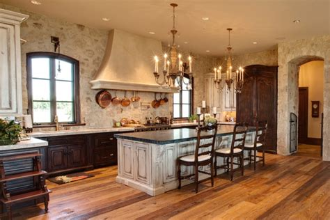 mediterranean style home with rustic elegance 12 kitchen wall designs decor ideas design trends