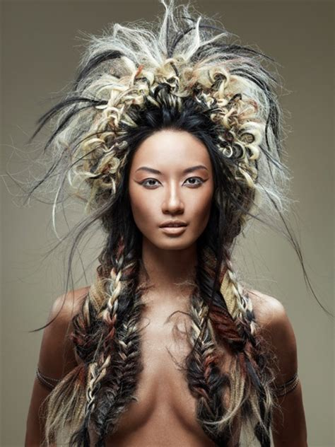 aztec hair style 20 best american indian headdress photoshoot ideas images