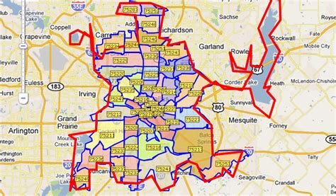 zip code map of dallas texas zip code map dallas metroplex pictures to pin on pinsdaddy