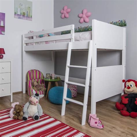 Childrens High Sleeper by Jango Children S White High Sleeper Bed The Children S