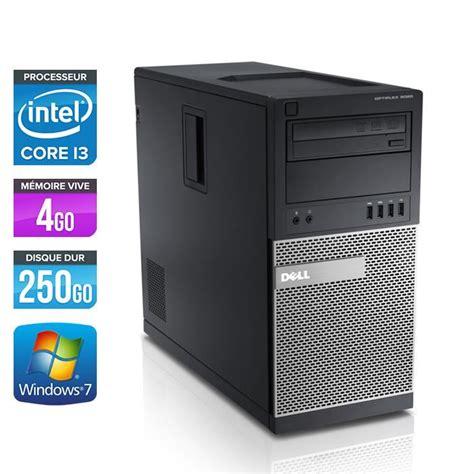 ordinateur de bureau intel i7 dell optiplex 790 tour i3 2120 3 3ghz 4go prix