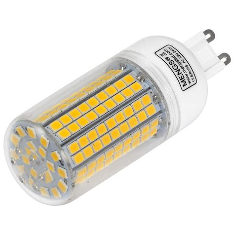 led g9 mengsled mengs 174 g9 10w led corn light 180x 2835 smd led