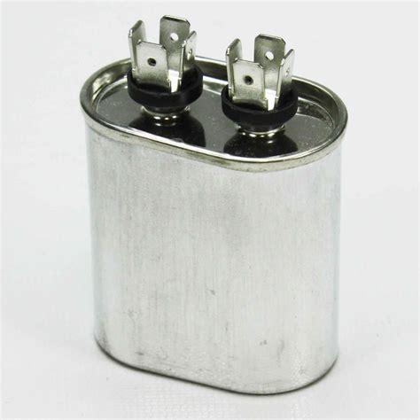oval motor run capacitor 5 mfd 370 vac ebay
