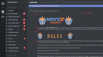 discord rules mockit esports professional esports community