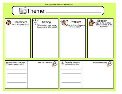 novel plot layout story plan chart freebie speech pathology writing