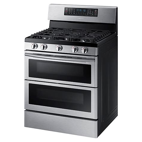 Thermador Cooktops Gas Nx58k7850ss Samsung 30 Quot Gas Range Flex Duo Oven Dual