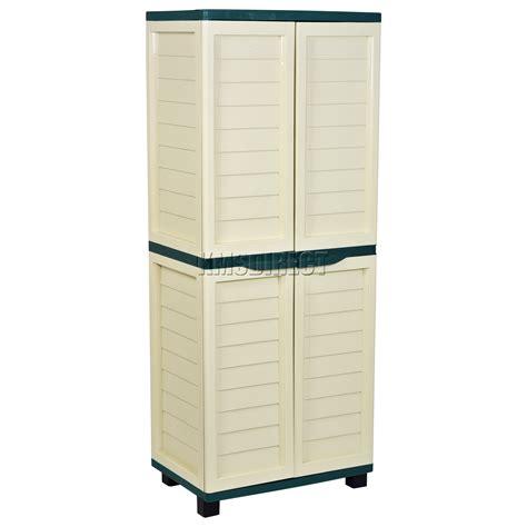 outdoor resin storage cabinets starplast outdoor plastic garden utility cabinet with 4