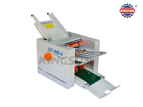 Folding Paper Machine - ze series automatic paper folding machine products welcome