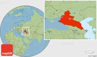 map of caucasus savanna style location map of caucasus