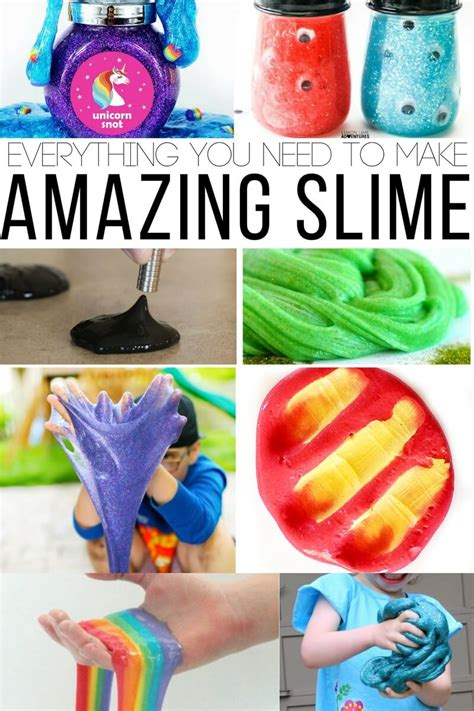 The Everything You Need To what you need to make slime absolutely everything