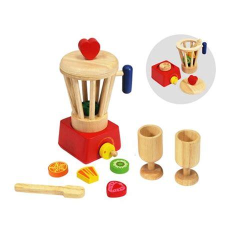 Delightful Toy Kitchen Set #3: Wooden-toy-food-blender-set.jpg