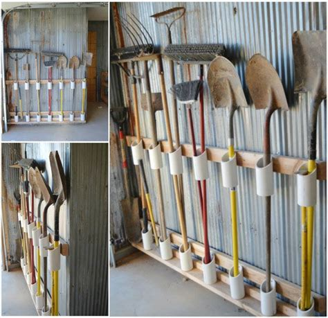 10 Diy Home Storage Ideas Hirerush Blog Garden Tool Storage Ideas