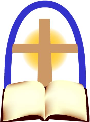 free christian clipart bible and cross clip image christian religious