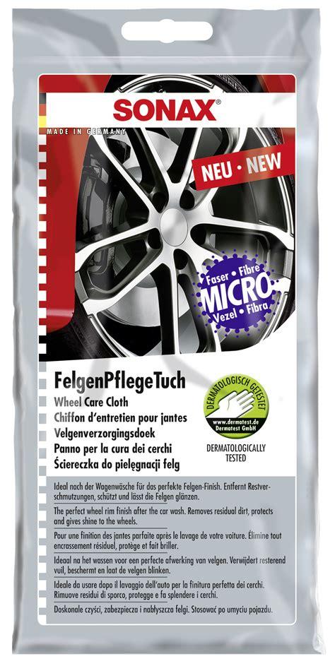 Auto Polieren Wie Ein Profi by Sonax Felgenpflegetuch Autopflege Lackpflege