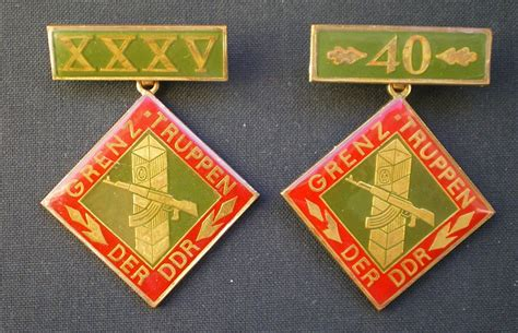 0524 Ddr 1986 The 40th Anniversary Of Border 1v Mnh some ddr badges page 2
