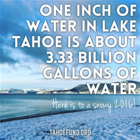 tahoe facts tahoe fund