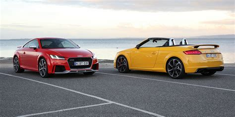 audi tt rs pricing  specs sports car flagship