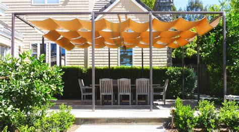 Outdoor Sun Shades For Patio by Retractable Sun Shade Covered Terrace Traditional