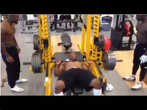 james harrison bench press retired deebo youtube