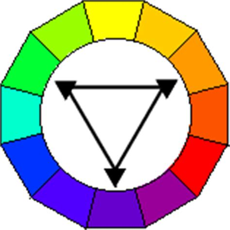 triadic color scheme exles triad colors exles