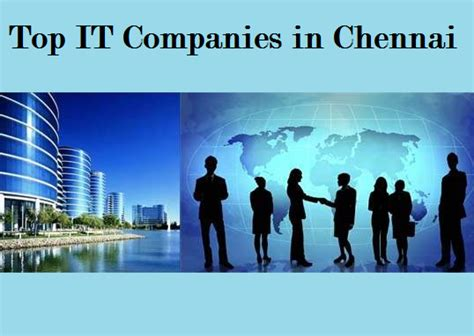 Top Mba In Chennai by What Are The Top It Companies In Chennai Quora