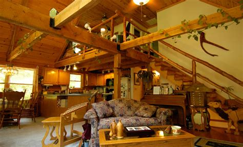 Gambrel Homes by Wood House Log Homes Log Cabin Company In East Tennessee