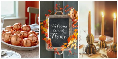 pictures of home decorations ideas 40 easy diy thanksgiving decorations best ideas for