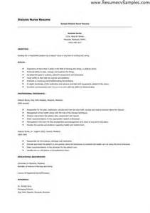 dialysis resume objective