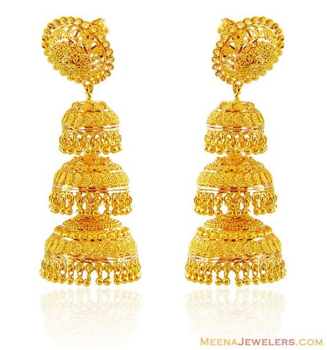 gold jhumka pattern 1000 images about gold on pinterest designer bangles