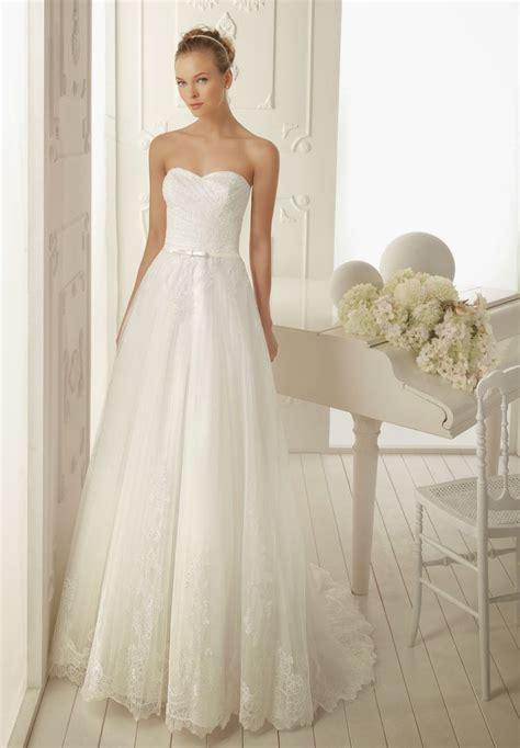 gorgeous simple lace wedding dresses cherry marry