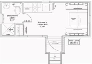 2 Floor Tent by Peek Inside