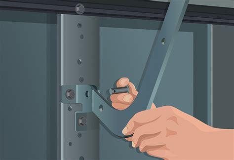 Garage Door Arm by Garage Door Opener Installation Guide At The Home Depot