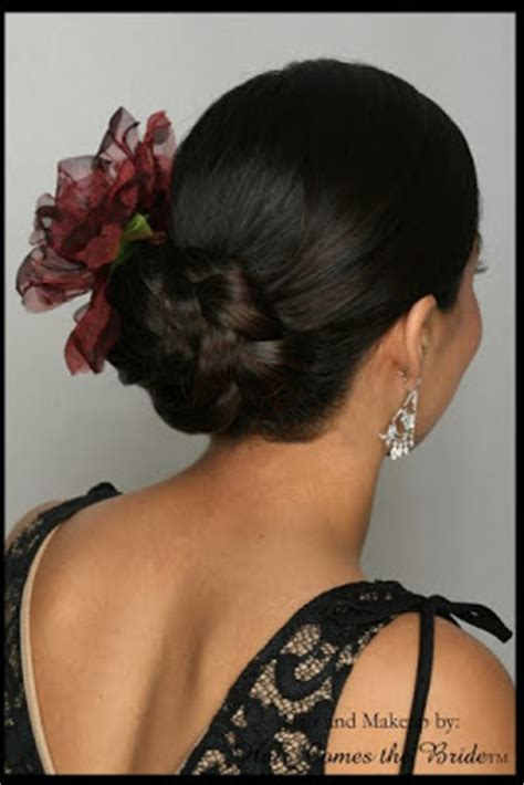 American Chignon Wedding Hairstyles by American Wedding Hairstyles Hairdos Chignon