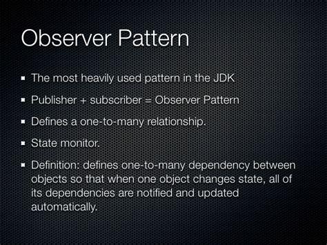 design pattern used in jdk design patterns course