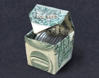 How To Make A Paper Money Box - best 25 money origami ideas on origami with