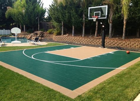 how to build a basketball court in backyard snapsports backyard home court build basketball court