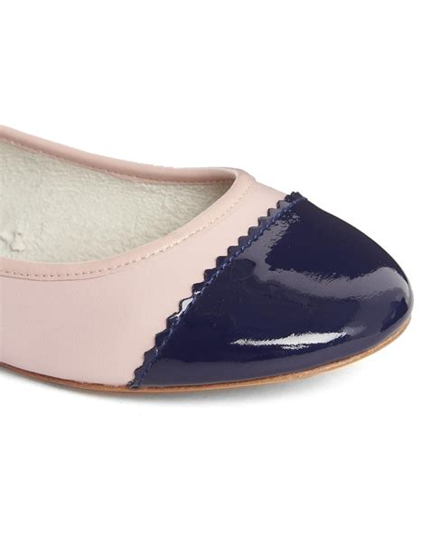 Gucci Shoes With Pearls Yr308 60 pour la victoire pearl flat shoe in blue navymutli lyst