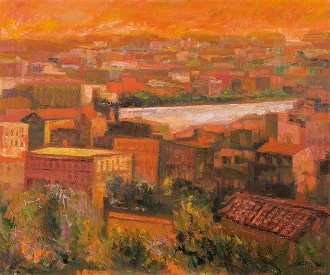 asta di roma ugo attardi tetti di roma 2001 arte moderna e