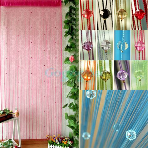 insect curtains acrylic beaded string curtain fly insect door screen