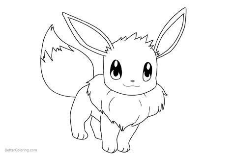 eevee coloring pages how to draw eevee coloring pages free printable coloring