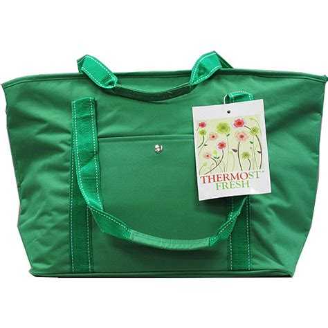 quest eco friendly insulated grocery bag green walmart