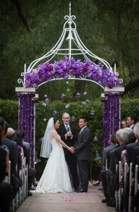 Wedding Arch Purple by Purple Wedding Arch Decor Wedding Aisles Alters