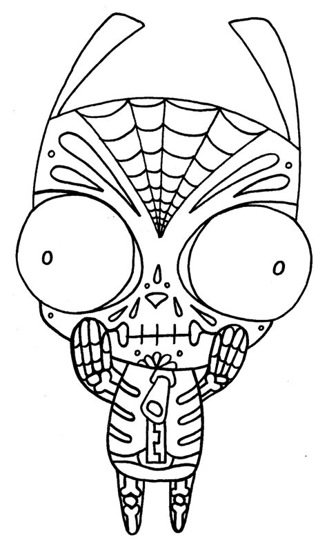 yucca flats n m wenchkin s coloring pages dia de los gir