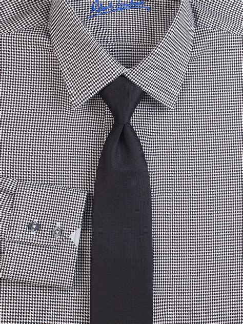 White Shirt Layer Houndstooth houndstooth dress shirt www imgkid the image kid has it