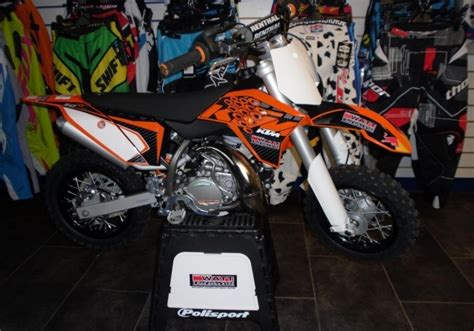 Mini Trail Ktm 50sx Orange mini trail ktm sx 50 cc metic jual motor ktm banka barat