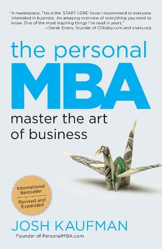 The Personal Mba Chapters 40 gift ideas for the entrepreneur in your entrefamily