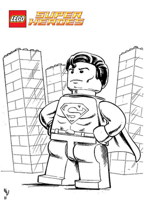 lego marvel superheros free colouring pages